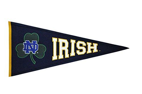 Winning Streak NCAA Notre Dame Irish Clover Pennant