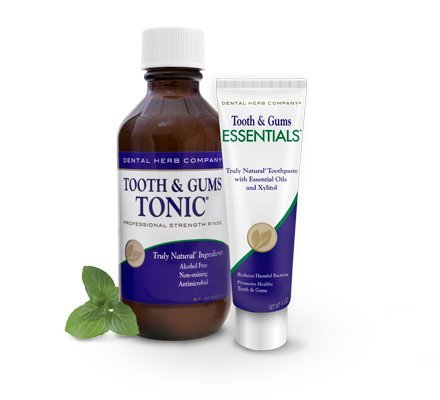 Dental Herb Company Tooth & Gums System NEW Essentials Paste and Tonic - Teeth And Gums