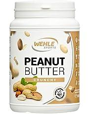 Erdnussbutter Peanut Butter ohne Zucker & ohne Zusätze natürliche Erdnussbutter, Erdnussmus ohne Salz, Öl oder Palmfett - Wehle Sports natürliche Nussbutter 1000g (1kg)