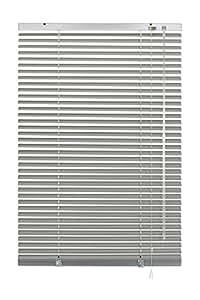 Gardinia 6926 - Persiana enrollable y estor, metálico y aluminio de 120 x 240 cm, color plateado