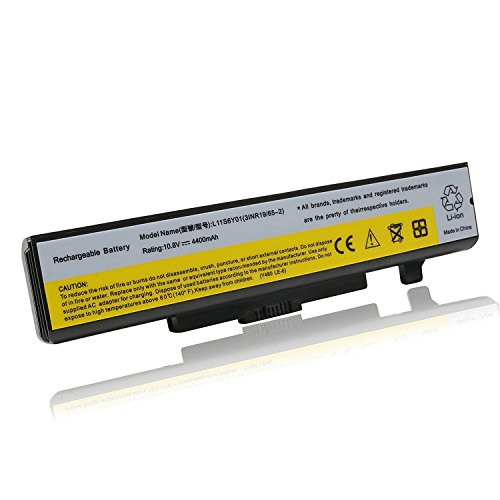 New Y480 Laptop Battery for ThinkPad Edge E435 E530 Y480 Y580 G480 G485 G580 Z380 L11S6Y01 Series [6 cell-4400mAh-10.8V]---12 Months Warranty