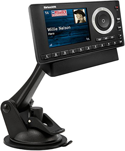 ARKON Windshield Dashboard Sticky Suction Car Mount for XM and Sirius Satellite Radios Single T and AMPS