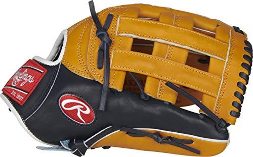 Rawlings Pro Preferred Baseball Glove, 12.75 inch, Pro-H Web, Right Hand Throw (Baseball Web Gems)