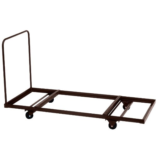 """Correll T3096 30"""" x 90"""" Flat Stacking Table Truck"""