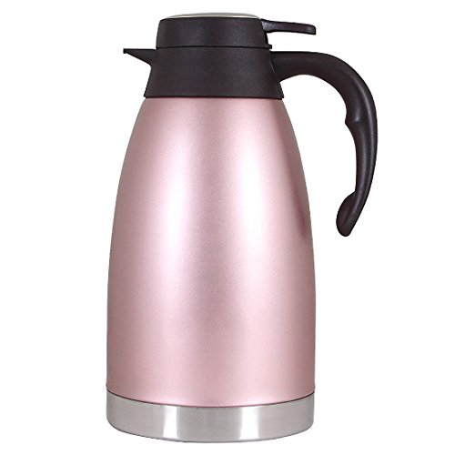 Pink Carafe - Amazing Camel Thermal Carafe Stainless Steel Coffee Double Walled Vacuum Thermos