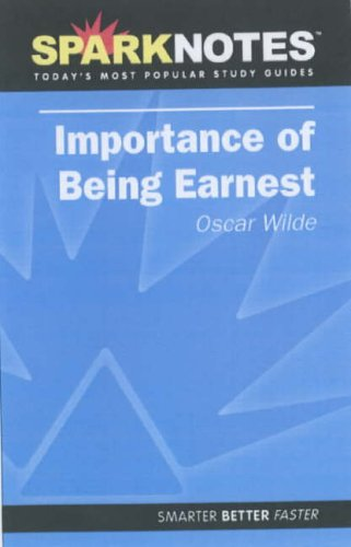 the-importance-of-being-earnest-sparknotes-literature-guide-sparknotes-literature-guide-series