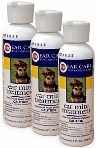 Gimborn Miracle Care R7M Ear Mite Treatment for Dogs 3PACK (12 oz)