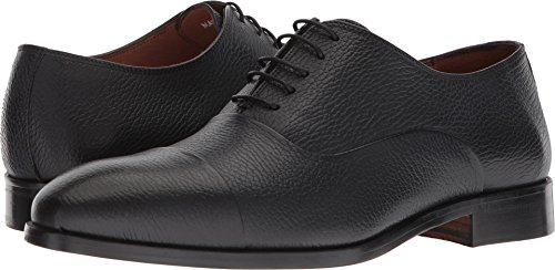 Massimo Matteo Mens Pebbled Bal Ct Nero