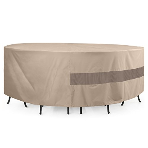 SunPatio Outdoor Table and Chair Cover, 72