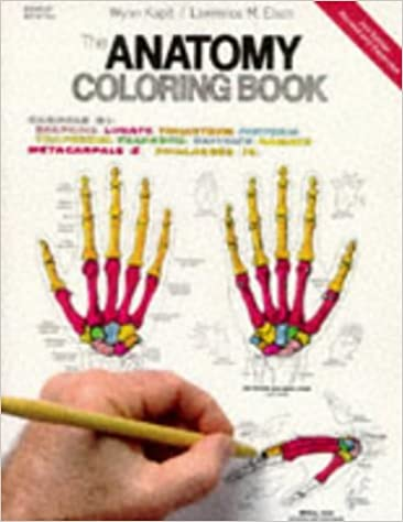The Anatomy Coloring Book: 9780064550161: Medicine & Health ...