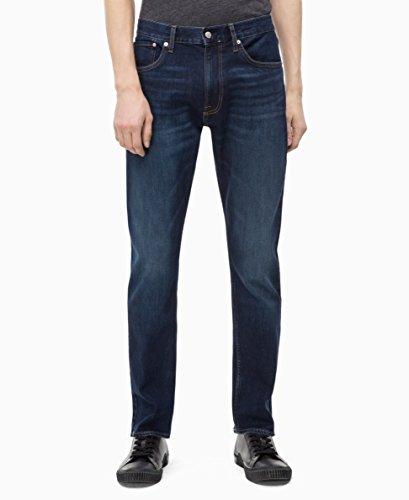 Calvin Klein Men's Athletic Taper Fit Jeans,