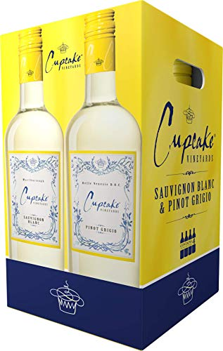Cupcake Vineyards Combo White, 4 pk, 750 ml