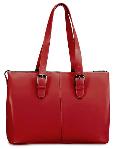 Jack Georges Milano Madison Avenue Tote, Red, Bags Central