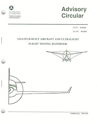 Amateur-Built Aircraft and Ultralight Flight Testing Handbook (Advisory Circular)