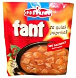 Fant Seasoning Mix for Hungarian Stew, Goulash, Paprikash, 2.3oz