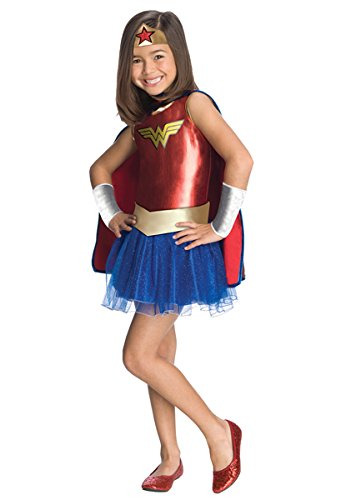 [Rubies Wonder Woman - Medium (8-10)] (Batman And Robin Tutu Costumes)