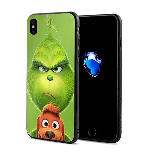MyLoire The Grinch Stole Christmas Designed for Apple iPhone X Case]()