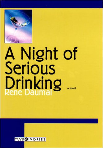 Book cover for A Night of Serious Drinking