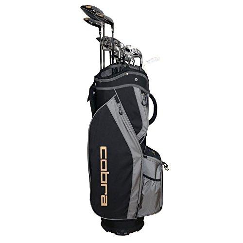 Cobra Flyz S Men's 13Pc Right Hand Lite Flex Complete Set, Black - Complete Golf Set