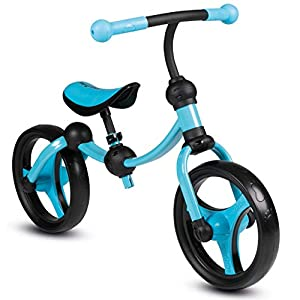 smarTrike Balance Bike 2 in 1 Adjustable Toddler Running Bike – Rubber Wheels and No Pedals Perfect First Bicycle for Ages 2 5