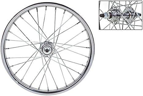 """Rear Wheel//circle 1 Speed Bike Graziella-MTB 16/"""" x 1.75 Aluminum"""
