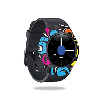 MightySkins Skin Compatible with Samsung Gear S2 Smart Watch Cover wrap Sticker Skins Swirly