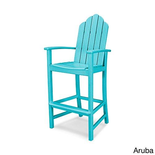 POLYWOOD Kahala Outdoor Adirondack Bar Chair ()