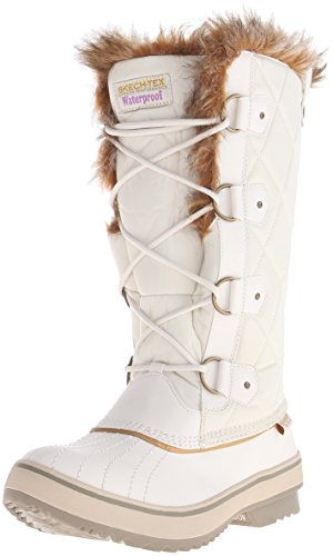 Skechers Hooglanders-tall Quilt Schneestiefel Winter Wit
