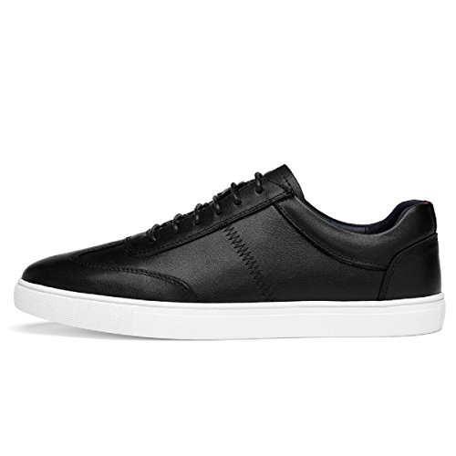 KEEPBLANCE Men's First Layer of Cow Leather Skateboarding Shoes with Lightweight - Cow Leather Net