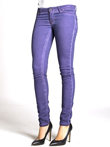 Sigaretta Jogger Unita 555 Tinta 788 Viola Push Bassa Felpato Jeans Interno Up Modello Donna Vestibilità Per A Carrera Vita 4z05qwC