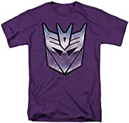 Transformers Vintage Decepticon Logo Unisex Adult T Shirt for Men and Women