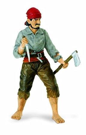 Safari Ltd  Pirates Boatswain Benjamin Jeffrey Figure