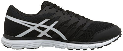 ASICS Men's GEL Zaraca 4 Running Shoe Black/White/Silver footlocker finishline online discount order discount limited edition buy cheap excellent 7Y3bY