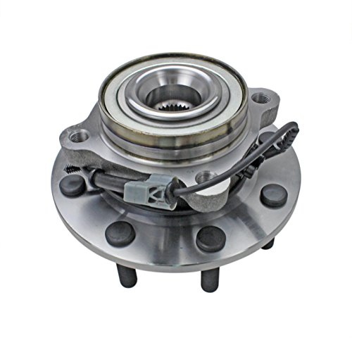 CRS NT515098 New Wheel Bearing Hub Assembly, Front Left/ Right, for 2007- 13 Chevy K2500 (Suburban)/ Silverado 2500/ 3500/ 2500HD, 2007- 10 GMC Sierra 3500/ (Yukon XL) 2500/ 2500HD, 2008- 09 Hummer H2