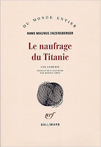 Livre gratuits Le Naufrage du Titanic pdf, epub