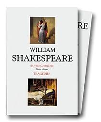 Tragédies, coffret de 2 volumes par Shakespeare