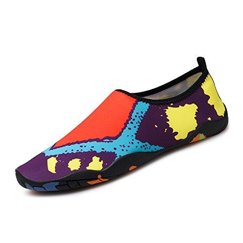 calzados parejas yoga rápido padre fitness para piel de de la 1 cuidado Lucdespo el morado natación Secado Running zapatos SX suaves de niño descalzos deportes 5011qfwFnU