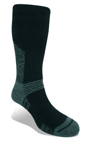 Bridgedale Men's Woolfusion Summit Socks, Medium, Black - Heavyweight Ski Sock