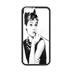 Custom High Quality WUCHAOGUI Phone case Movie & TV Super Star Audrey Hepburn Protective Case For Apple Iphone 6,4.7