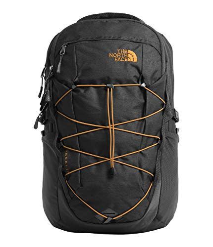 The North Face Unisex Borealis Asphalt Grey Dark Heather/Citrine Yellow One - Asphalt Laptop