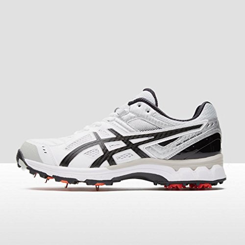 ASICS GEL-220 Not Out Zapatilla De Cricket - SS17 Blanco