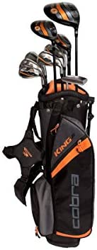 Cobra Golf King Jr Complete Set with Bag Ages 13-15