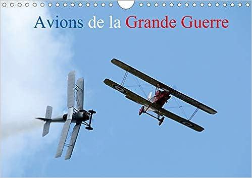 Calendrier Meeting Aerien 2021 Avions de la Grande Guerre (Calendrier mural 2021 DIN A4