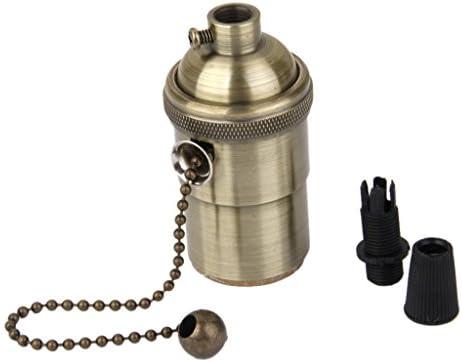 B Blesiya Lamphouder E27 lamphouder Vintage E26E27 lampfitting DIY met schakelaar