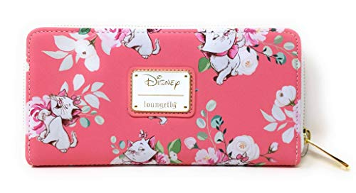 Loungefly-X-Disney-The-Aristocats-Marie-Pink-Floral-AOP-Wallet