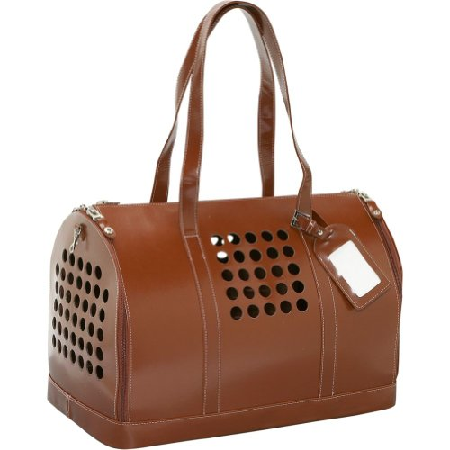 """Bark N Bag Airline Approved Cat Pet Carrier Bag Tote Purse """" No Mesh To Claw Through """" Color Brown, My Pet Supplies"""