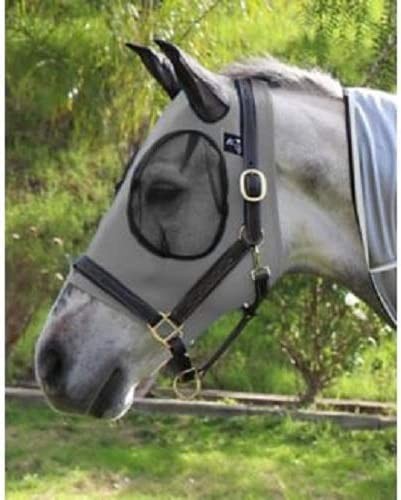 Showman Professionals Choice ComfortFit Fly Mask Charcoal