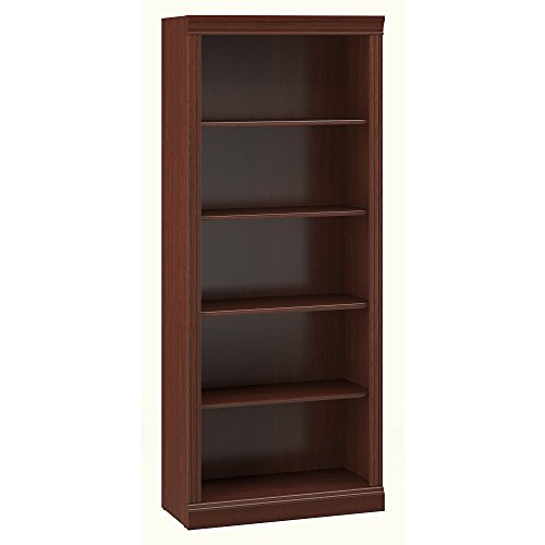 Bush Furniture Saratoga 5 Shelf Bookcase in Harvest ()