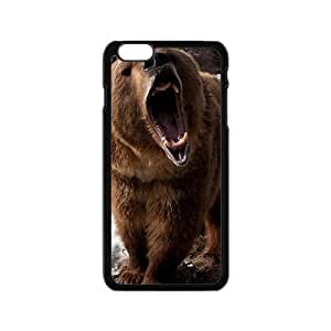Warm-Dog Snow Bear Custom Protective Hard Phone Cae For Iphone 6