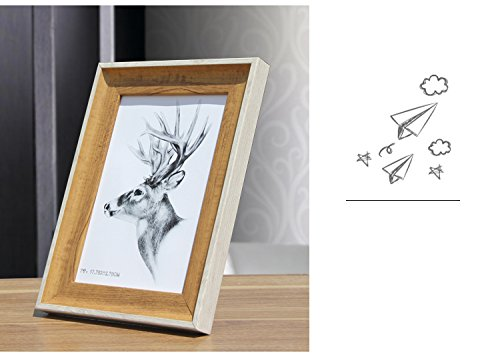 Decor Bedroom M and F 1pc.85inch Europe family gloden Photo Frame fashion birthday gift DIY picture frame swing sets home decor metal (Swing Frame Accent)